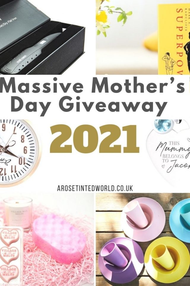 Massive Mother's Day Giveaway 2021 - win a host of amazing prizes perfect for your mum or other lady in your life. Find out more here!