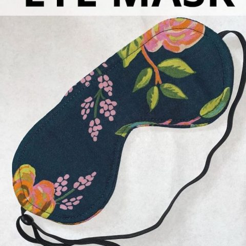 How To Make An Eye Mask – For Sleep Or Relaxing