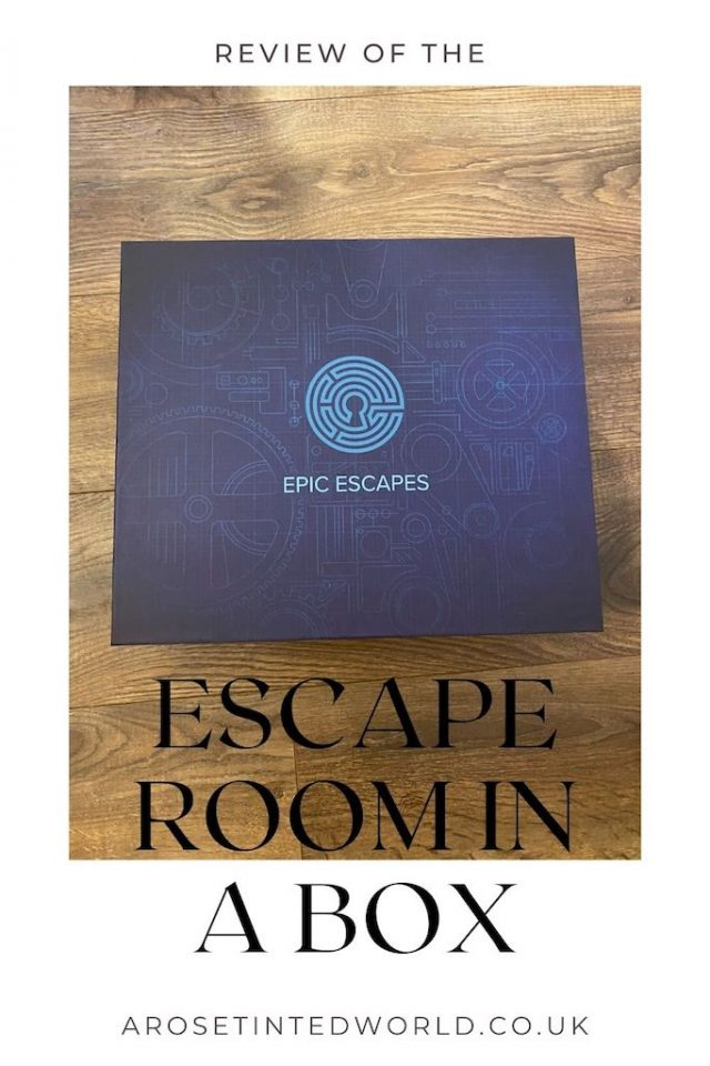 Escape Room In A Box (3-in-1) from Escape Room Games - see our review of this alternative to a board game or murder mystery night in. This set of escape room scenarios are a great way of spending an evening with friends & family. Recreate an escape room experience at home with these puzzles & games. Hours of teamwork, logic, fun & entertainment solving mystery & opening the boxes to escape the room in the alloted time. Great gift idea for Mothers Day, Fathers Day, Christmas or birthday party.