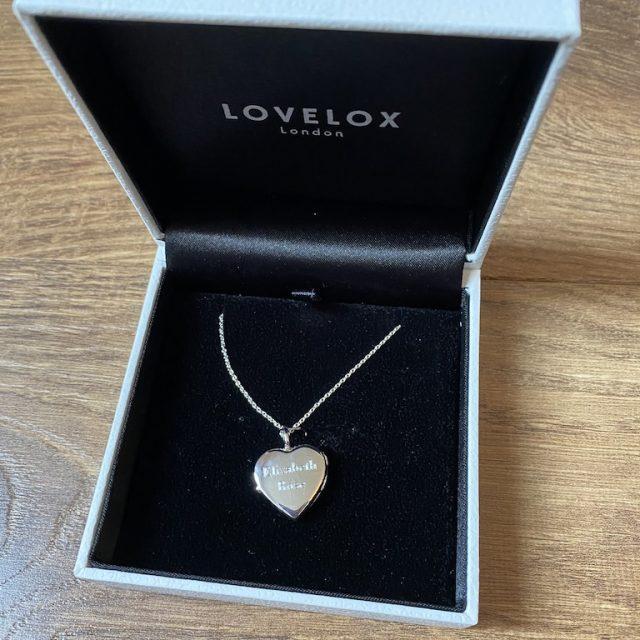 LOVELOX LOCKET IN BOX