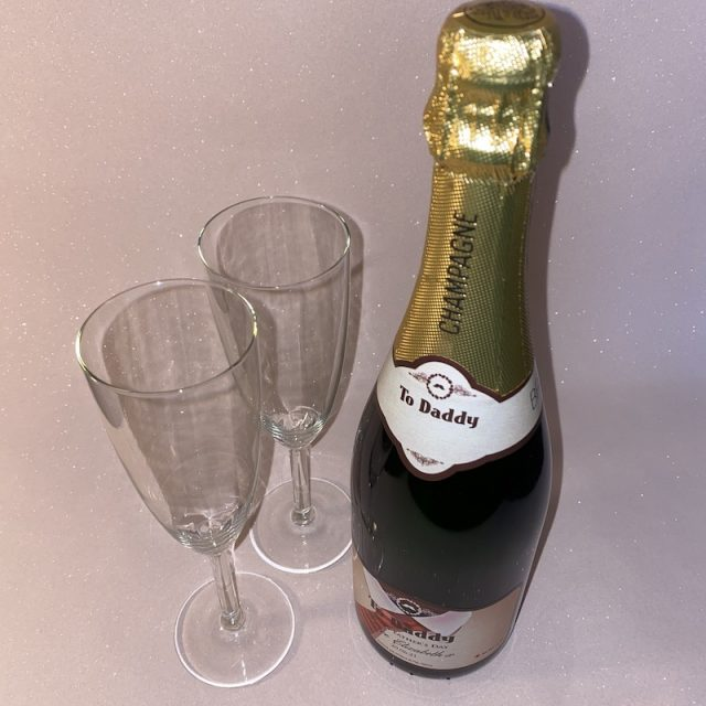 Say It With Champers Personalised Champagne