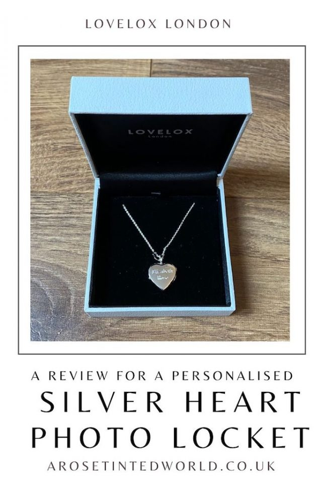 Here is our review of the Sterling Silver Heart Locket by LOVELOX London. A heart silver locket necklace in 925 sterling silver. LOVELOX fits the photographs so you don't have to fiddle with cutting and finding photos to fit. Engrave a message or special date. Perfect gift for birthday, Mother's Day, anniversary or for your bridesmaids.