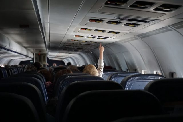 Traveling with children - plane