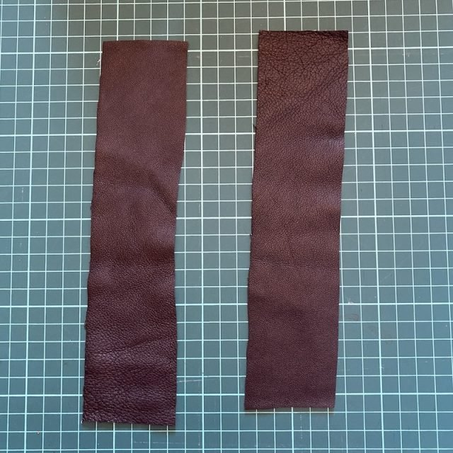 Leather for bookmark