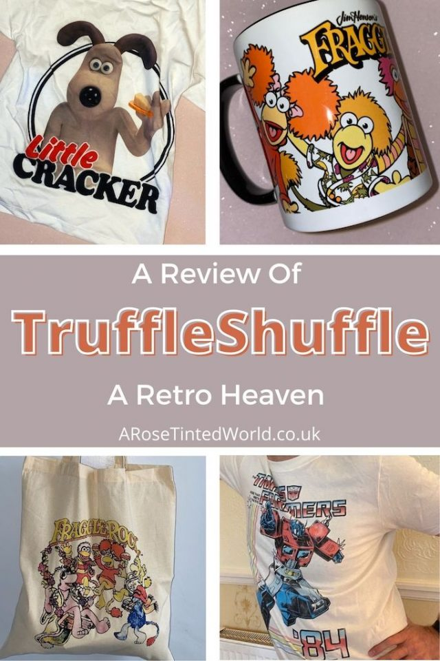Review Of TruffleShuffle - looking for exclusive retro t-shirts & great gift ideas? You'll be in heaven with this website. See what we thought
