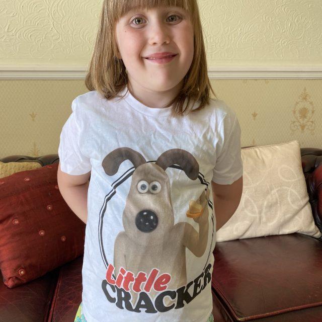 Gromit Little Cracker t-shirt from TruffleShuffle