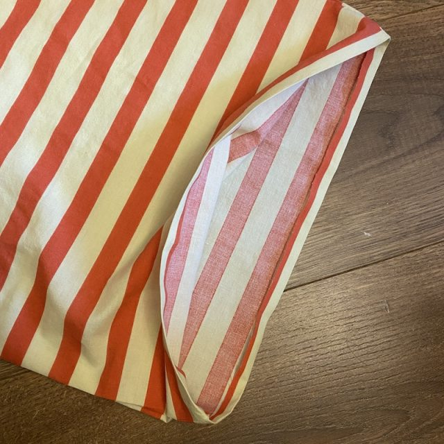Unlined Drawstring Produce Bag - Making The Casing Part 1