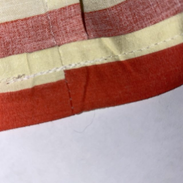 Unlined Drawstring Bag - Making The Casing Part 3
