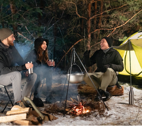 Gamma: A Perfect Jacket for Camping