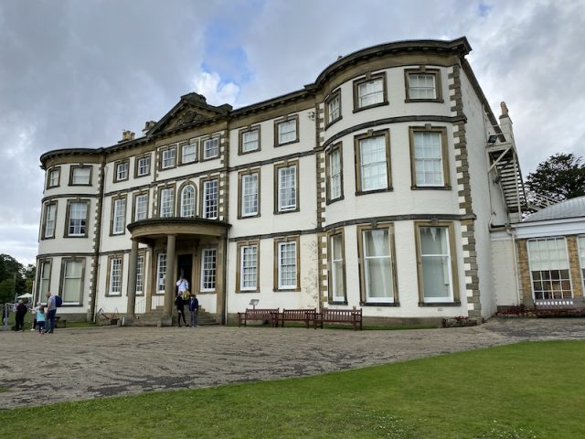 The front of Sewerby Hall, Bridlington