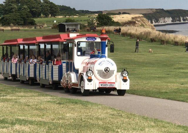 The Dotto train on Bridlington North Cliff