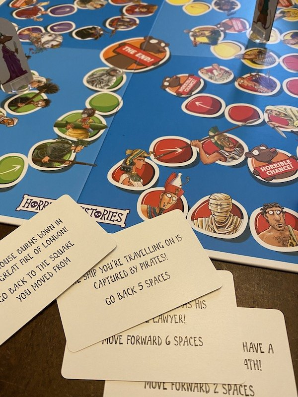 Picture of the Horrible Histories Board Game