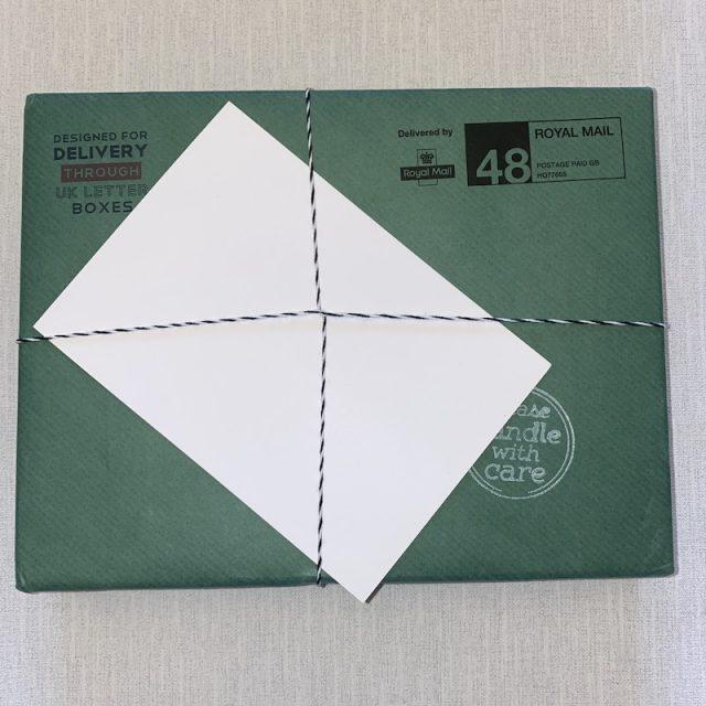 Letter Box Hamper - external packaging