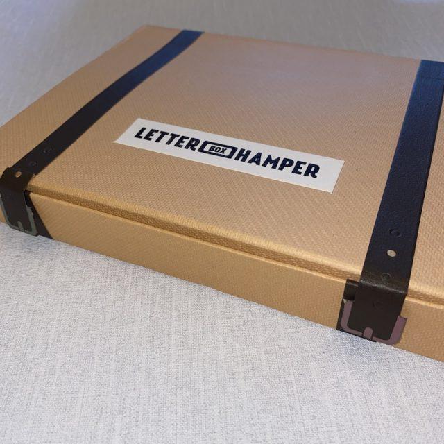 Letter Box Hamper - inside packaging