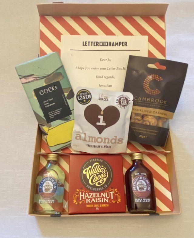 Letter Box Hamper - contents