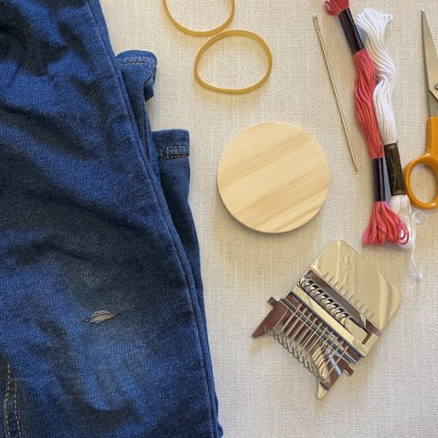 How To Use A Speedweve Loom To Mend Clothes