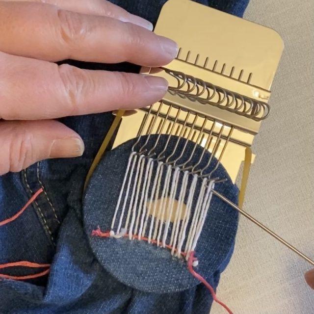 Mending using a speedweve part 9