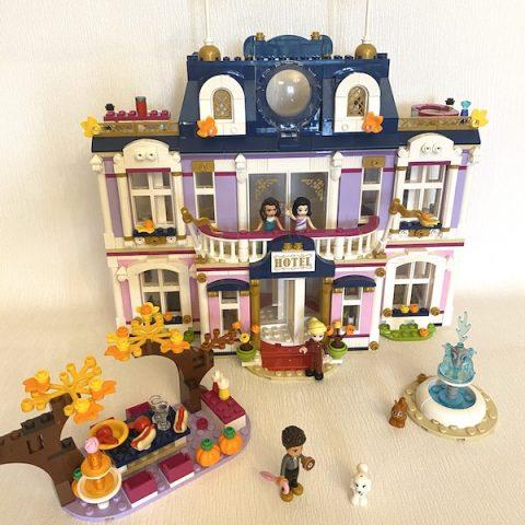 LEGO Friends Heartlake City Grand Hotel Review