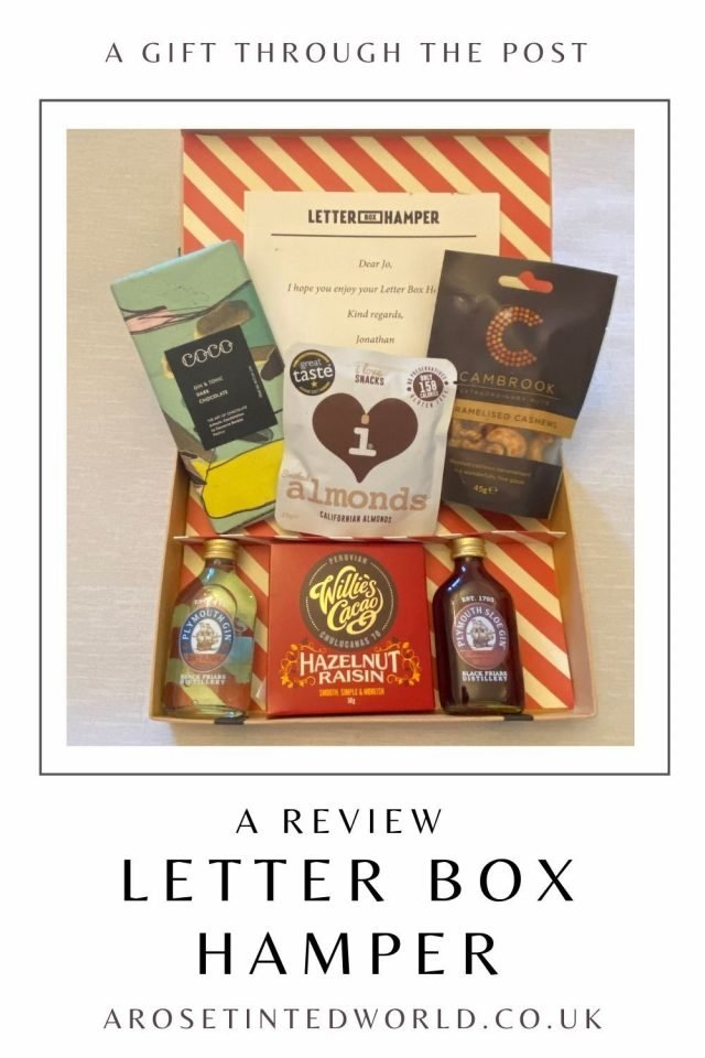 Letter Box Hamper Review - I was sent a luxury letterbox parcel hamper to sample. See what I thought. Is this the perfect gift idea?